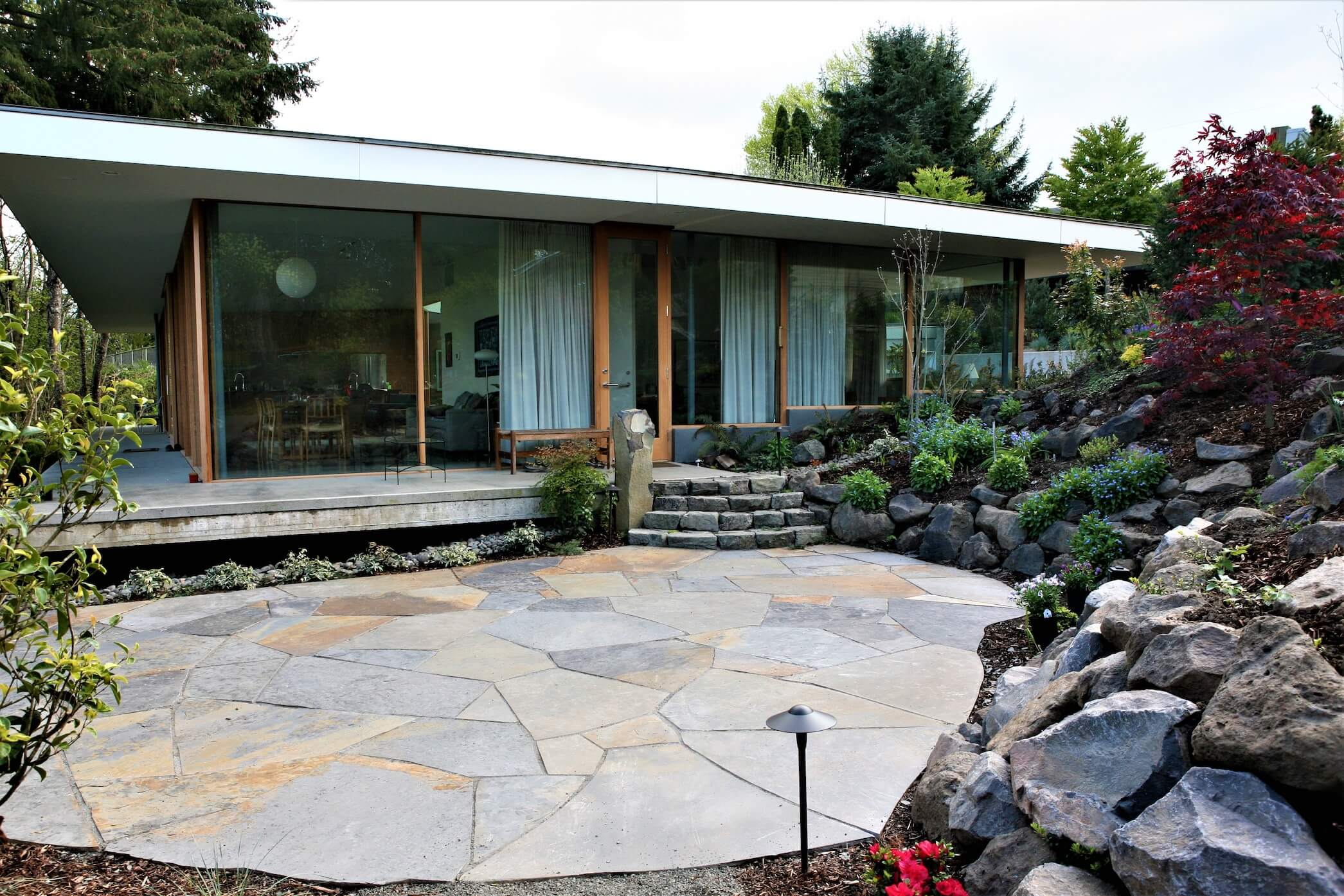 Flagstone and natural stone